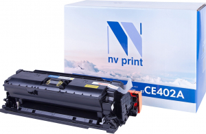 Тонер-картридж HP 507А (CE402A) для HP Color LaserJet Enterprise 500 M551/ M570/ M575 совместимый