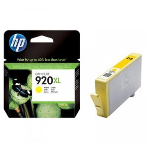 Картридж CD974AE (HP 920 XL) желтый для HP OfficeJet 6000/ OfficeJet 6500/ OfficeJet 7000/ OfficeJet 7500 (О)