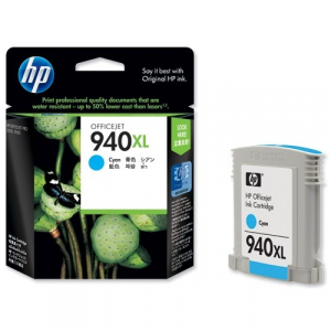 Картридж C4907AE (HP 940XL) синий для HP OfficeJet Pro 8000/ OfficeJet Pro 8500 (O)