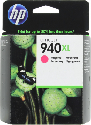 Картридж C4908AE (HP 940XL) magenta для HP OfficeJet Pro 8000/ OfficeJet Pro 8500 (O)